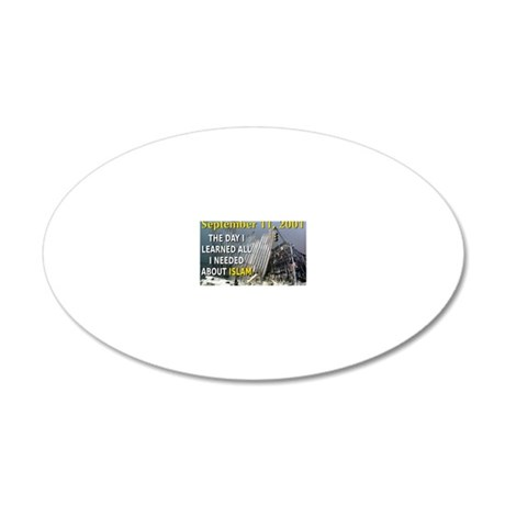 ACPSP: 20x12 Oval Wall Decal