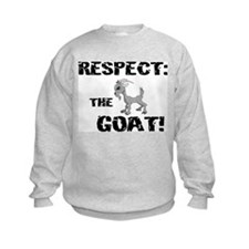 RESPECT the GOAT for Men Sweatshirt