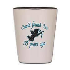 cupid 35 Shot Glass
