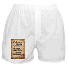 serenity-scroll Boxer Shorts