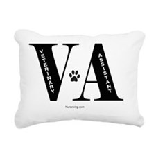 vatech-blin Rectangular Canvas Pillow