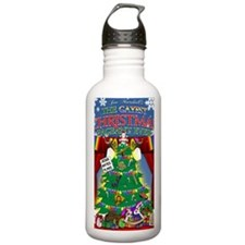 The Gayest Christmas P Water Bottle