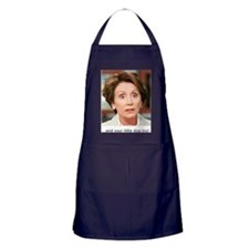 Pelosi and your little dog too 10x10_ Apron (dark)