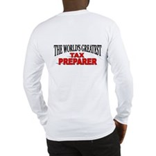 """The World's Greatest Tax Preparer"" Long Sleeve T-"