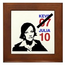 JULIA10 Framed Tile
