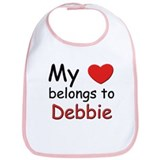 My heart belongs to debbie Bib