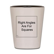 Right Angles 1 Shot Glass