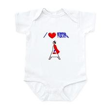 I Love Nursing! Infant Bodysuit