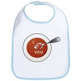 Love Spoon Bib