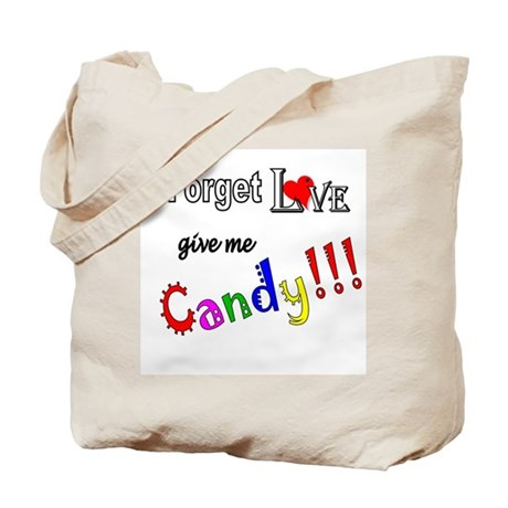 Give Me Candy Tote Bag