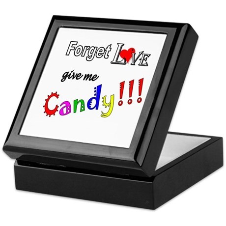 Give Me Candy Keepsake Box