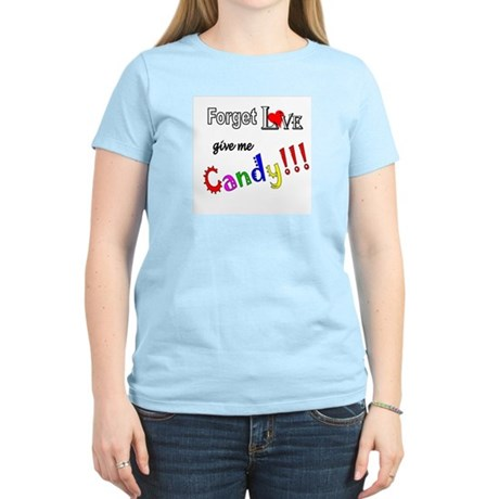 Give Me Candy Women's Pink T-Shirt
