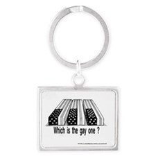 GAY ONE Landscape Keychain