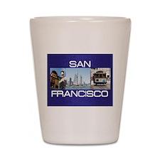 sanfrancisco1a Shot Glass