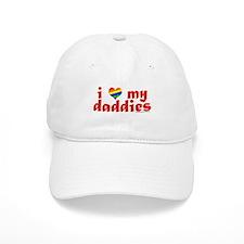 I Love My Daddies Cap