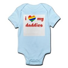 I Love My Daddies Infant Bodysuit