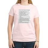 Top Ten for Fibromyalgia Women's Pink T-Shirt