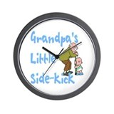 Grandpa's Sidekick Wall Clock