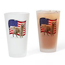 2-4thJulyRedMerge Drinking Glass
