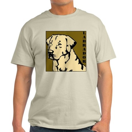 Yellow Military Lab Ash Grey T-Shirt