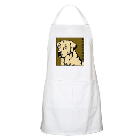 Yellow Military Lab BBQ Apron