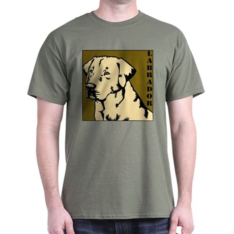 Yellow Military Lab Dark T-Shirt