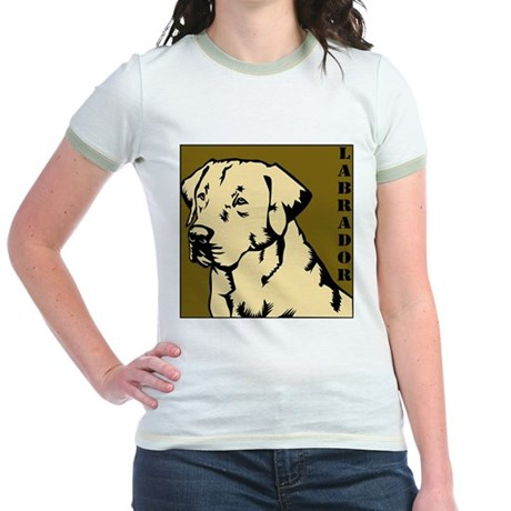 Yellow Military Lab Jr. Ringer T-Shirt