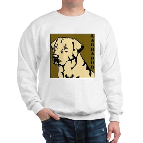 Yellow Military Lab Sweatshirt