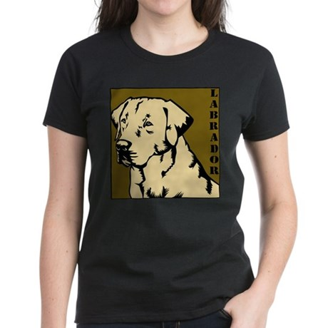 Yellow Military Lab Women's Dark T-Shirt