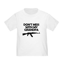 Dont Mess With My Grandpa T-Shirt