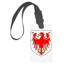 Alto Adige Sudtirol Graphic Whit Luggage Tag