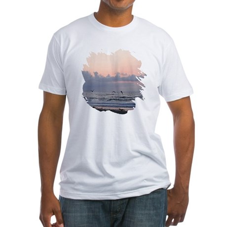 Seascape Fitted T-Shirt