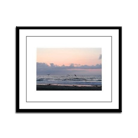 Seascape Framed Panel Print
