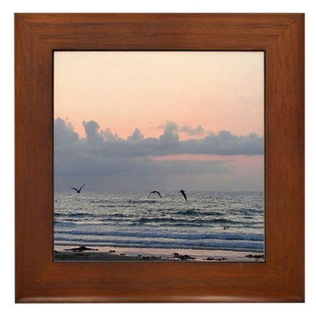 Seascape Framed Tile