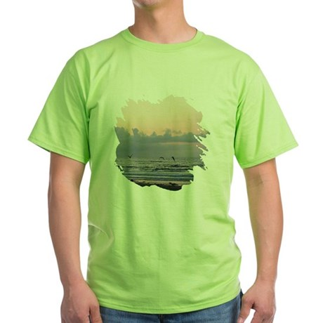 Seascape Green T-Shirt