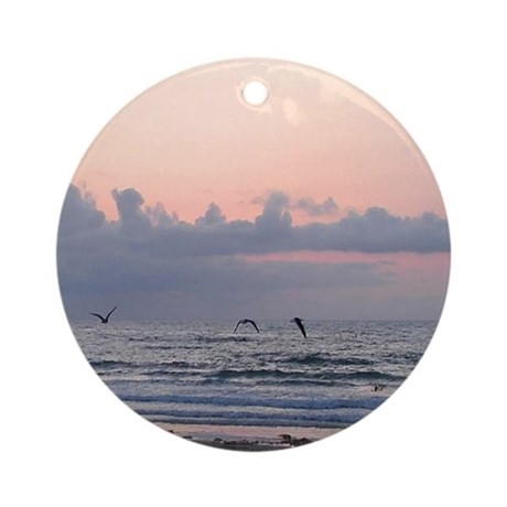 Seascape Ornament (Round)