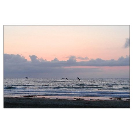 Seascape Large Poster