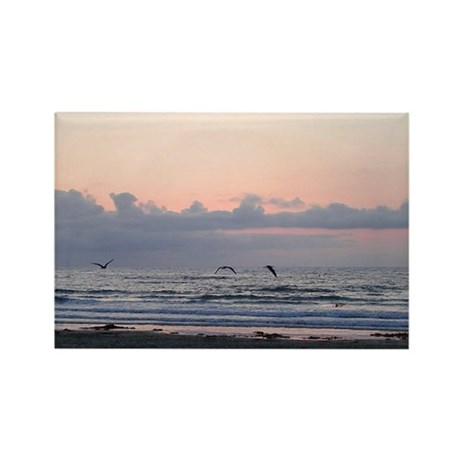Seascape Rectangle Magnet (100 pack)