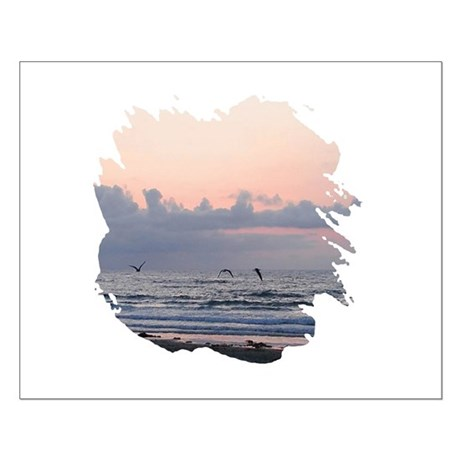 Seascape Small Poster