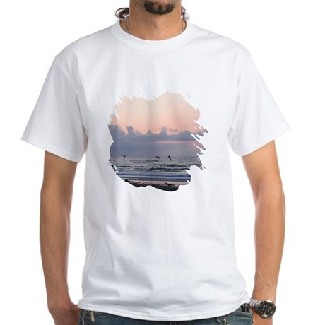 Seascape White T-Shirt