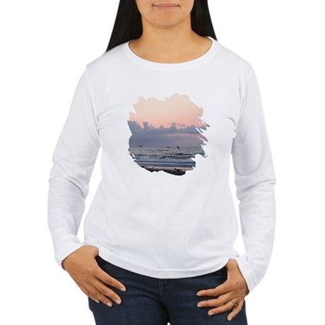 Seascape Women's Long Sleeve T-Shirt