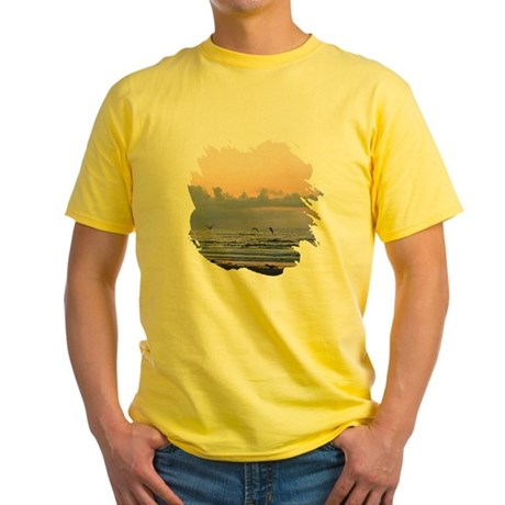 Seascape Yellow T-Shirt