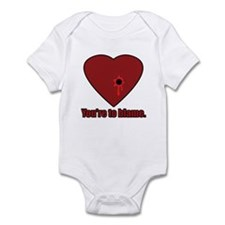 Shot Through the Heart Infant Bodysuit