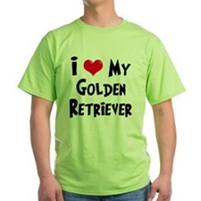 I-Love-My-Golden-Retriever T-Shirt