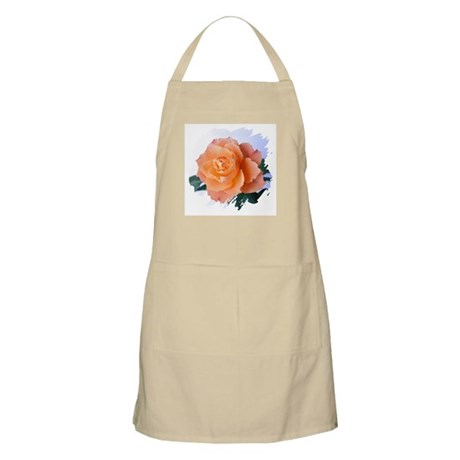 Orange Rose BBQ Apron