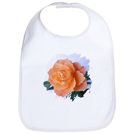 Orange Rose Bib