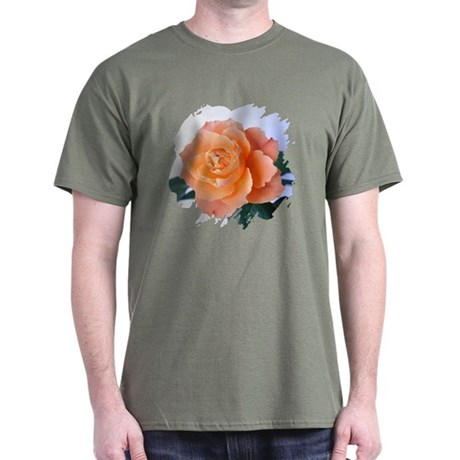 Orange Rose Dark T-Shirt