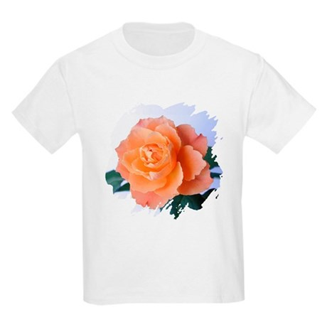 Orange Rose Kids T-Shirt