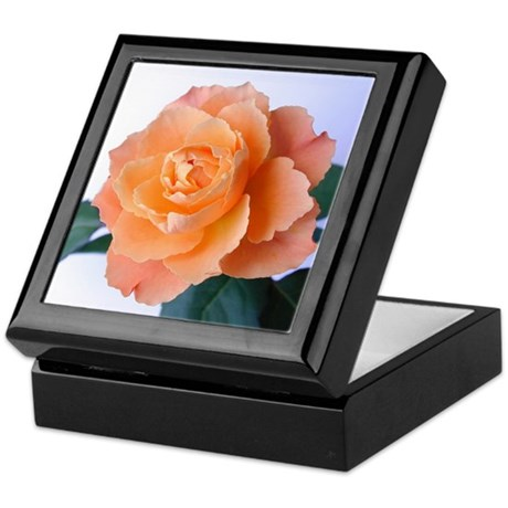 Orange Rose Keepsake Box