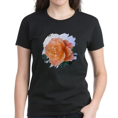 Orange Rose Women's Dark T-Shirt